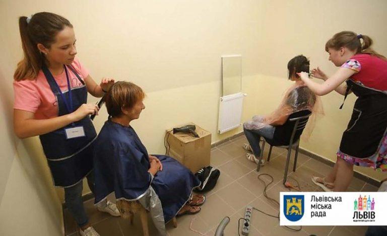 У Львові триває акція з надання безпритульним санітарно-гігієнічних послуг