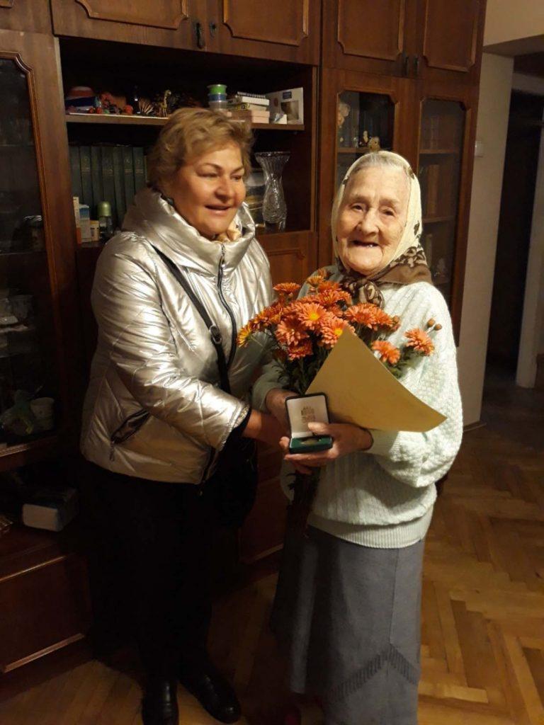 Львів'янка Марія Ненашева відзначила свій сотий День народження